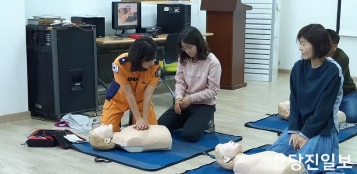 당진소방서, 사회복지시설 대상 심폐소생술 및 응급처치 교육 실시해2.jpg